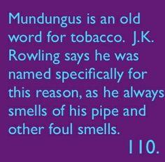 Random Harry Potter fact
