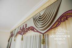 Бандо 8: Valance Curtains, Cornice Ideas, Luxury, Adele, Diy, Window Treatments, Design, Home Decor, Sheer Curtains
