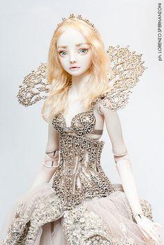 Piceno Fashion Doll Convention- Marina Bychkova's Enchanted Doll  In Grottammare, Italy.