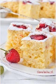 Polish Desserts, Polish Recipes, Cookie Desserts, Pie Recipes, Easy Desserts, Sweet Recipes, Baking Recipes, Dessert Recipes, Different Cakes