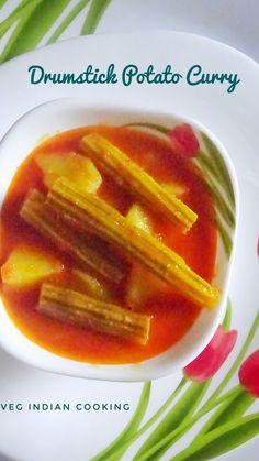 How to make Drumstick Tomato Curry,  Alu matar Makhana Drumstick Tomato Curry,  Drumsticks,  Potatoes, Peas #indianrecipes #superquick #drumstickvegetable #tomatocurry #foodblogger #indiancurry #shajanphali #shajan #shingi