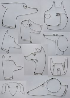 Woof, Yap, Grrrr! A new series of wall-mounted sculptures for Jonathan Adler by Rodger Stevens