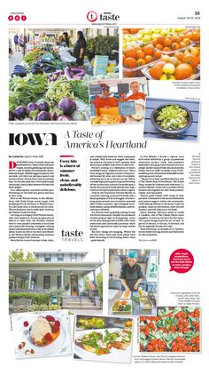 Iowa: A Taste of America's Heartland|Epoch Taste #Food #Travel #newspaper…