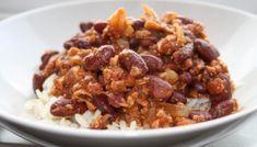 Kikert-karbonader - Veganeren Chili, Cereal, Oatmeal, Food And Drink, Breakfast, Recipes, Florence, Cakes, Vegans