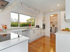 Similar size and layout to our kitchen - what we could look like after a renovation