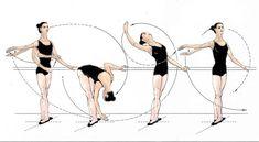 Ballet Shoes & Bobby Pins — Port de bras (Carriage of the arms): A. Ballet Body, Ballet Barre, Ballet Class, Dance Class, Ballerina Workout, Dancer Workout, Dance Tips, Dance Moves, Ballet Basics