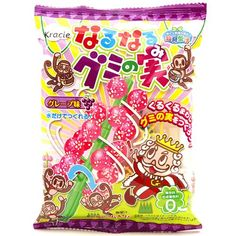 Narunaru Gummy Popin' Cookin' DIY candy tree grape kinda tastes like toothpaste though Japanese Grocery, Japanese Snacks, Japanese Sweets, Chinese Candy, Japanese Candy, Best Candy, Favorite Candy, Candy Drinks, Japanese Packaging