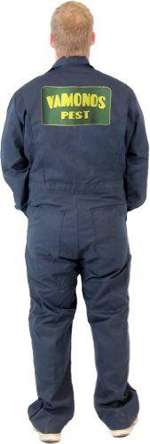 Breaking Bad Vamonos Pest Navy Adult Jumpsuit Costume $59.99