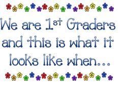 First Grade Expectations in Pictures. Change for music expectations First Grade Classroom, Primary Classroom, Future Classroom, School Classroom, School Fun, Back To School, Classroom Ideas, School Stuff, Classroom Rules