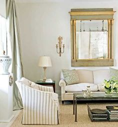 Touch of Modern with antiques