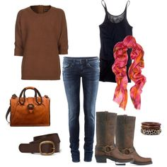 Lovely autum/winter outfit.