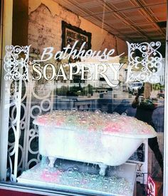 Handmade soap & bath luxuries from Bathhouse Soapery, a boutique shop in Hot Springs, Arkansas. Hot Springs store located in historic downtown on Bathhouse Row. Best soap shop store ever!