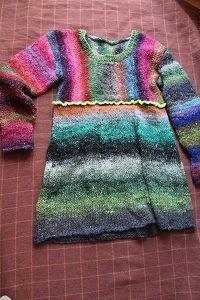 Pullover aus Obi 1 und 7 vorn