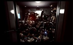 64 players in an elevator. It happened. #BF4