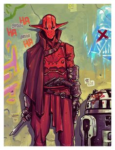 Crimson Corsair from 'The Force Awakens' - Michael Dialynas