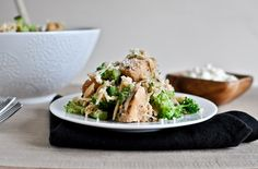 Crockpot Parmesan Garlic Chicken with Orzo    http://www.howsweeteats.com/2012/01/crockpot-parmesan-garlic-chicken-with-orzo/