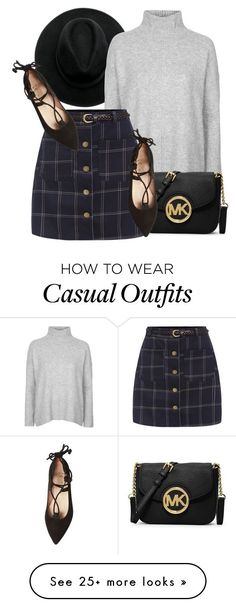 """What I'd Wear"" by monmondefou on Polyvore featuring Topshop, MICHAEL Michael Kors, French Sole FS/NY and Fall"