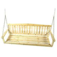 Wayfair Porch swing $122 unfinished