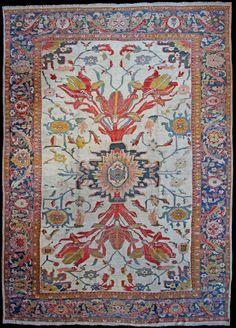 Persian Ziegler rug, 5.54 x 3.90 m, Circa 1890