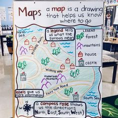 My students were SO excited about this when I introduced it to them! I drew the … My students were SO excited about this when I introduced it to them! I drew the map beforehand, and we filled in the legend, compass rose,… – Kindergarten Lesson Plans 3rd Grade Social Studies, Social Studies Lesson Plans, Social Studies Classroom, Teaching Social Studies, Classroom Map, Elementary Social Studies, Kindergarten Social Studies Lessons, Classroom Ideas, Social Studies Projects