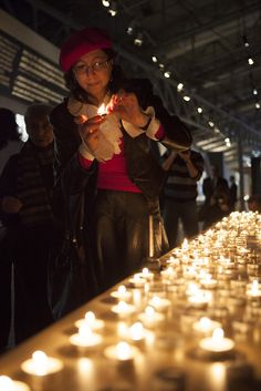 Warsaw, Poland - In Photos: Holocaust Victims Mourned At Auschwitz And Beyond -- VosIzNeias.com