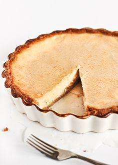 Maple Custard Pie