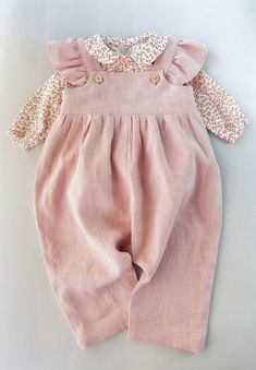 Powder baby linen romper Toddler jumpsuit Girl linen overall girl fashion fashion kids styles swag diva girl outfits girl clothing girls fashion Baby Outfits, Toddler Girl Outfits, Kids Outfits, Toddler Girls, Baby Girl Fashion, Toddler Fashion, Kids Fashion, Babies Fashion, Toddler Jumpsuit