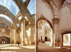 glass extension ruins - Google Search