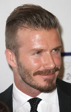 The side hair may be trimmed exceptionally short with scissors or trim with a razor (such as David Beckham wears the undercut).