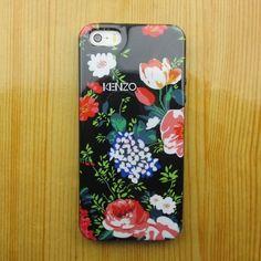 иликоновый чехол KENZO Red Rose для IPhone 4&4s