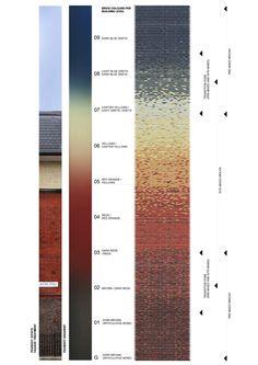 Trafalgar Place – dRMM Brick Architecture, London Architecture, Architecture Collage, Architecture Details, Building Skin, Building Facade, Brick Design, Facade Design, Exterior Tiles