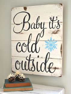 Can't wait to decorate for winter!                                                                                                                                                                                 More