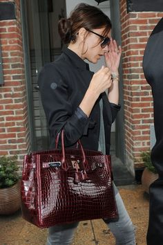 It looks like Victoria Beckham's favourite handbag might be in trouble...