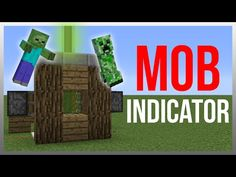 Minecraft 1.9: Redstone Tutorial - Mob Indicator v2! - YouTube