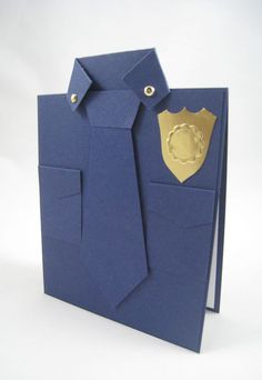 Police Shirt Card by Miechelle Weber www.stampinu.wordpress.com