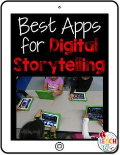 Digital Storytelling iPad Apps (most free)