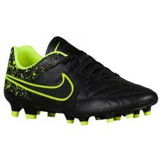 e996313f $44.99 nike black leather shoes,Nike Tiempo Genio Leather FG - Mens -  Soccer -