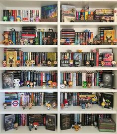 Not my photo!! Bookshelf