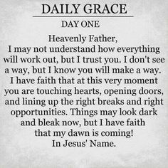 a prayer for grace