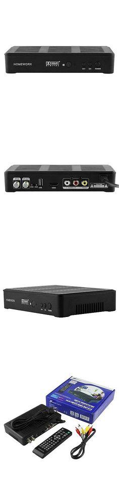 Other TV Video and Audio Accs Mediasonic Homeworx Hw180stb 3 4 Channel Hdtv Digital Converter  sc 1 st  Pinterest & Cable TV Boxes: Pico Digital Stb-Cb Cable Set-Top Box -u003e BUY IT ... Aboutintivar.Com