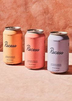 Packaging refrescos colores pastel #diseño #design #packaging #color