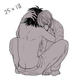 Death Note - Raito 'Light' Yagami x L 'Ryuuzaki' Lawliet - LawLight