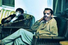 Roman Polanski and Jack Nicholson on the set of CHINATOWN (Roman Polanski, USA, 1974)