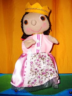 hand puppet, princes puppet, marionette,
