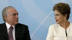 Além d'Arena: Temer sinalizou que teria Dilma no seu colo, com a...