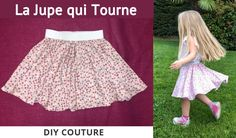 The Skirt That Turns - Tutorial Couture Easy Beginner - sewtut Blog Couture, Felt Roses, Chicago Fashion, Kid Styles, Rock, Sewing Tutorials, Cheer Skirts, Ballet Skirt, Crochet