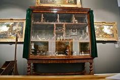 A Beautiful World: Roomboxes Dolls House Miniature Furniture, Small World, Beautiful World, China Cabinet, Dollhouse Miniatures, Bookshelves, Liquor Cabinet, Museum, Dolls