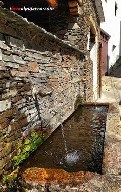 Fuente de Mecina Bombarón Granada, Andalusia, Nevada, Spanish Art, Fonts, Grenada