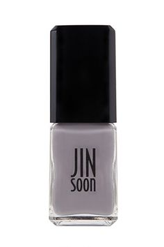 Besides for Jin Soon being an all-around awesome person (our beauty department has secret dreams of being best friends with her), she is the master of neutrals. I love this steely shade, and I'm super-psyched for her brand-new shade, Kookie White, which is a lovely mix of blue, gray, and white. Look for it in March! Jin Soon Nail Lacquer in Auspicious, $18, available at Sephora.