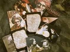 Gypsy Fortune Teller Cards Crystal Ball Party by wanderingmermaid, $10.00